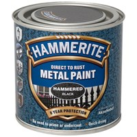 Hammerite  Direct to Rust Hammered Finish Metal Paint - 250ml