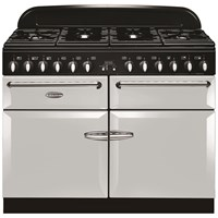 Stanley  Supreme Deluxe Dual Fuel Range Cooker 110cm - Pearl Ash