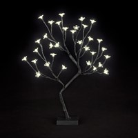 Snowtime  LED Cherry Blossom Tree Warm White - 45cm