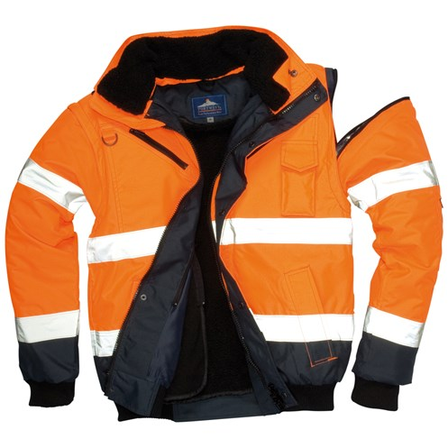 Portwest  3-in-1 Bomber Jacket - Orange