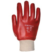 Portwest  PVC Knit Wrist Glove