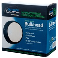 Powermaster  Round Contemporary Bulkhead Light - 40W