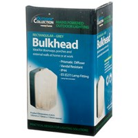 Powermaster  Rectangular Polycarbonate Bulkhead Light  - 60W