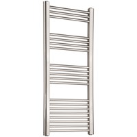 Chrome Straight Towel Warmer - 1200 x 600mm