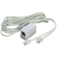 Powermaster  ST12 Phone Extension Lead - 7ft