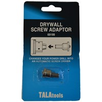 Tala  Drywall Screw Adaptor - 25mm