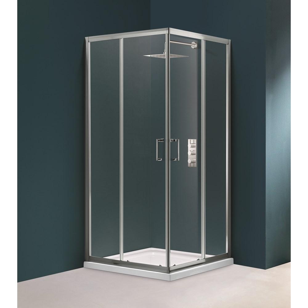 Flair Corner Entry Shower Enclosure | Shower Doors | McDonoghs