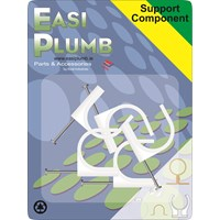 Easi Plumb  Nail 3/4in Pipe Clips - 5 Pack