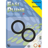Easi Plumb  Screened Appliance Hose Washers - 2 Pack