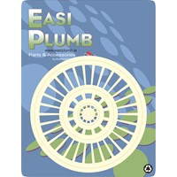 Easi Plumb  Waste Outlet Grid - White