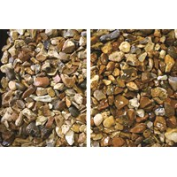 The River Collection  Suir Gold Flint Decorative Stone - 10mm