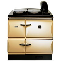 Stanley  Brandon Cast Iron Oil Range Cooker - Cream