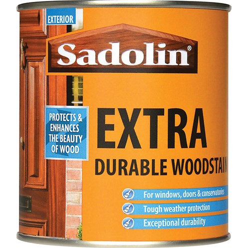 Sadolin Woodstain Extra Durable Colours Woodstain - 500ml