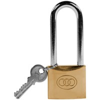 Tri- Circle  Heavy Duty Brass Padlock - 2in
