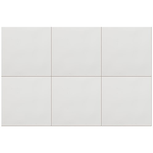 Plain White Tiles Pack - 15x15cm
